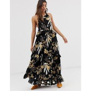 NEW Free People Anita high low maxi dress